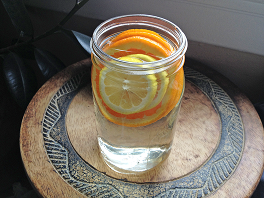 orange-lemon-infused-water