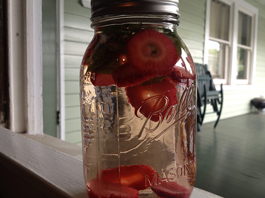 strawberry-basil-infused-water