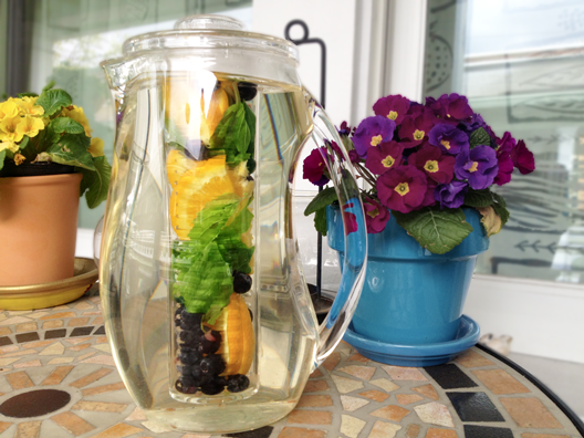 orange-blueberry-basil-infused-water