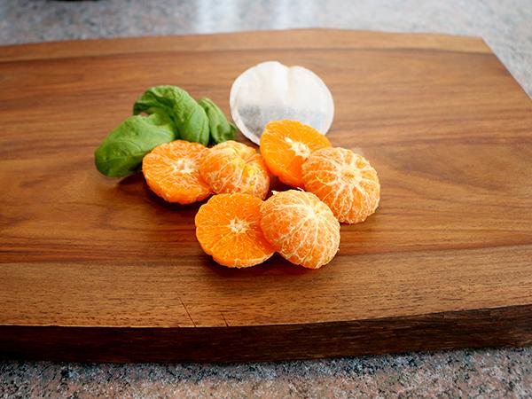 mandarins-infused-water