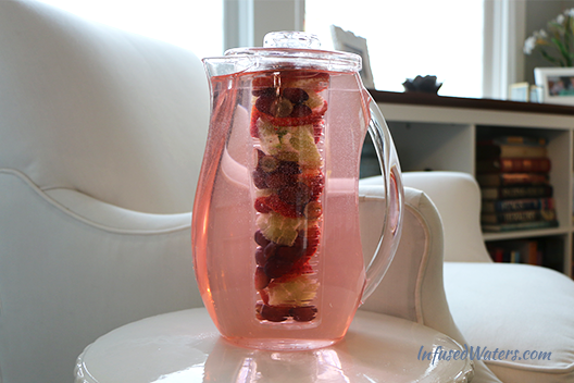 grape-strawberry-lime-infused-water