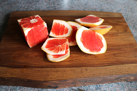 Grapefruit Infused Waters