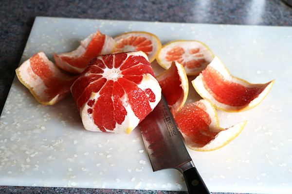 Cut Rind from Infused Water Ingredients