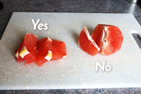 Grapefruit Rosemary Water Instructions