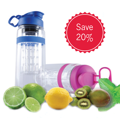 Save 20% with the code INFUSION20. A great water bottle at a a great price!