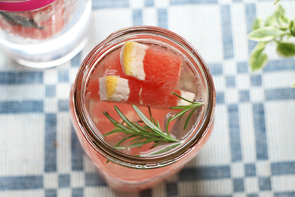 Rosemary Infused Water