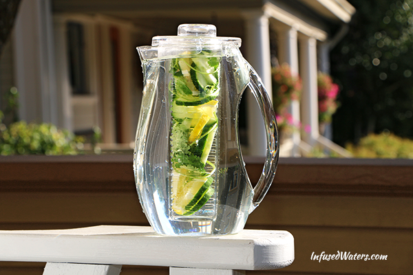cucumber-lemon-cliantro-infused-water